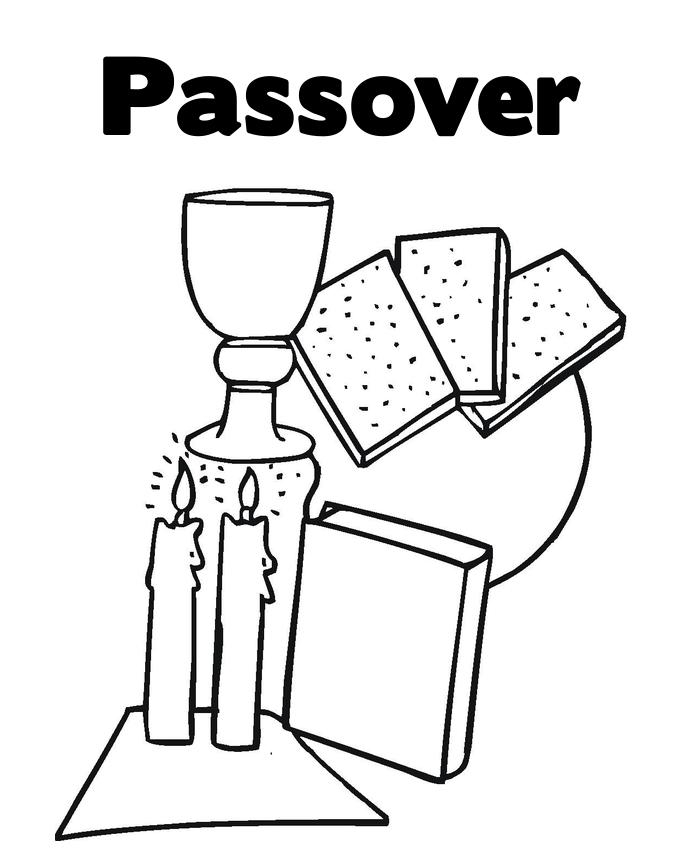 Free passover coloring pages ~ Free Passover Coloring Pages