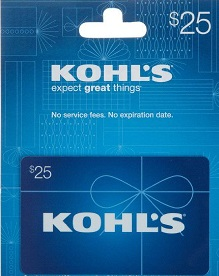 $25 Kohl's Gift Card Giveaway - The Jewish Lady